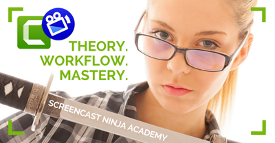 Screencast Ninja Academy logo